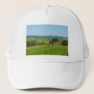 Tramcar in death living trucker hat