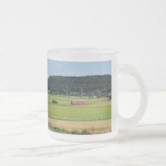 Tramcar in Niederwetter Frosted Glass Coffee Mug