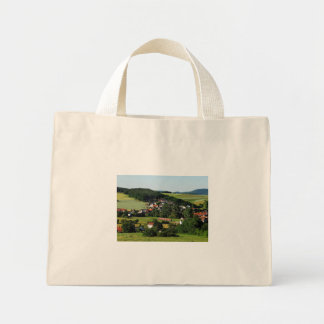 Tramcar in Niederwetter Mini Tote Bag