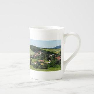 Tramcar in Niederwetter Tea Cup