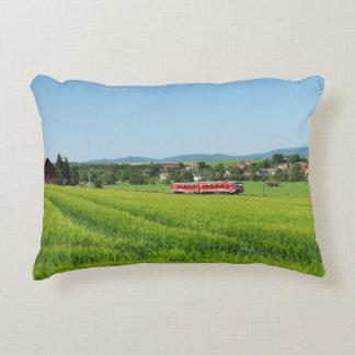 Tramcar in Simtshausen Accent Pillow