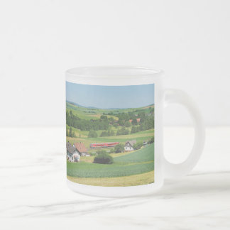 Tramcar in Simtshausen Frosted Glass Coffee Mug
