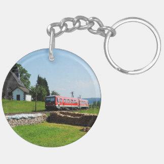 Tramcar in Simtshausen Keychain