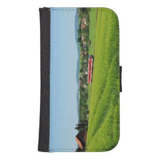 Tramcar in Simtshausen Samsung S4 Wallet Case