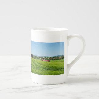 Tramcar in Simtshausen Tea Cup