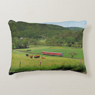 Tramcar with Ederbringhausen Decorative Pillow
