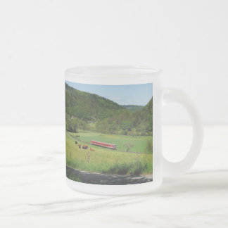 Tramcar with Ederbringhausen Frosted Glass Coffee Mug