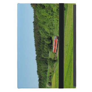 Tramcar with meadow field case for iPad mini