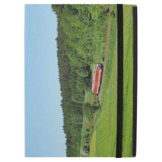 """Tramcar with meadow field iPad pro 12.9"""" case"""
