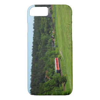 Tramcar with meadow field iPhone 8/7 case