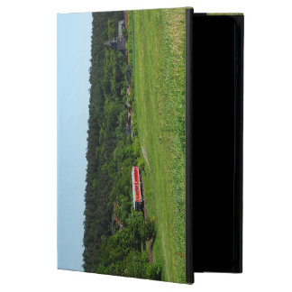 Tramcar with meadow field powis iPad air 2 case