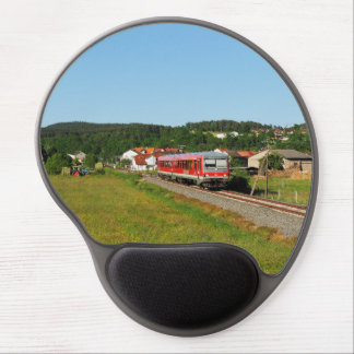 Tramcar with Muenchhausen Gel Mouse Pad