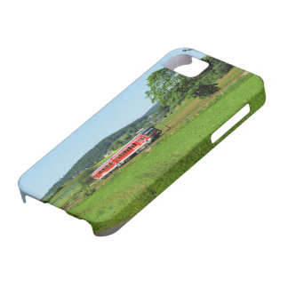 Tramcar with Muenchhausen iPhone 5 Cases