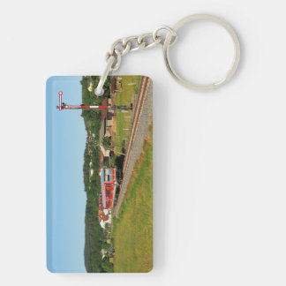 Tramcar with Muenchhausen Keychain
