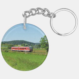 Tramcar with Muenchhausen Keychain