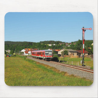 Tramcar with Muenchhausen Mouse Pad