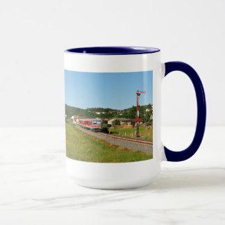 Tramcar with Muenchhausen Mug