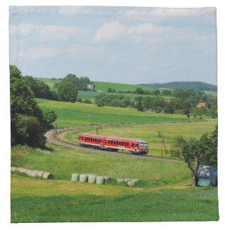 Tramcar with Muenchhausen Napkin