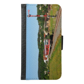 Tramcar with Muenchhausen Samsung Galaxy S6 Wallet Case