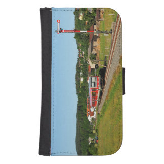Tramcar with Muenchhausen Samsung S4 Wallet Case