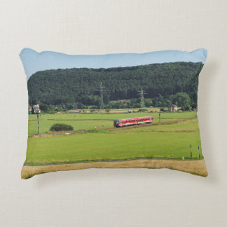 Tramcar with Sarnau Accent Pillow