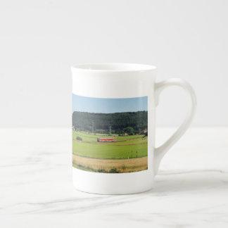Tramcar with Sarnau Tea Cup