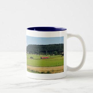 Tramcar with Sarnau Two-Tone Coffee Mug