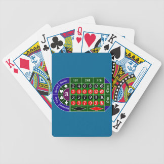 Tramp roulette bicycle playing cards