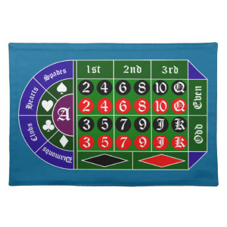Tramp roulette placemat