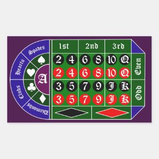 Tramp roulette sticker
