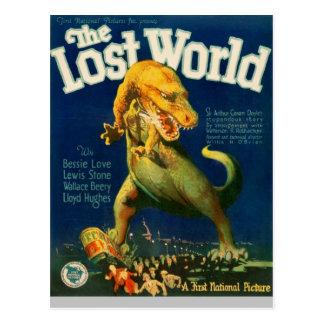 Trampling Tyrannosaurus Postcard