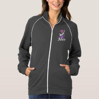 Trampoline gymnast California Fleece Track Jacket