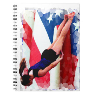 Trampoline Gymnast Notebooks