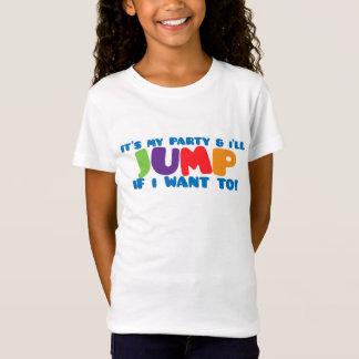 Trampoline Jump Birthday T-Shirt