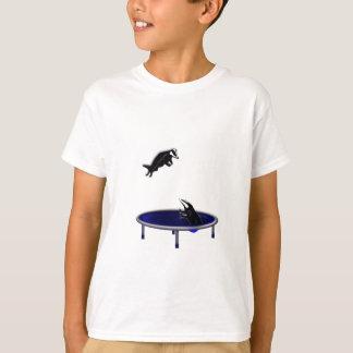 trampolining badgers T-Shirt