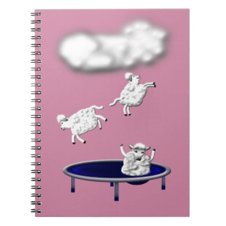 trampolining sheep or how clouds are made spiral notebook