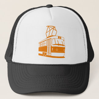 Tramway transportation electric trucker hat
