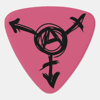 Tranarchy Guitar Pick