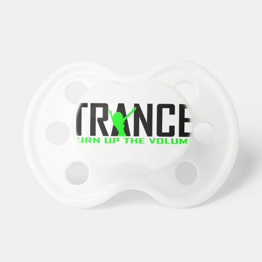 Trance Dancer design Baby Pacifiers