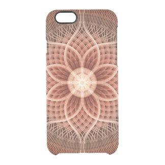 Trance Lotus Mandala Clear iPhone 6/6S Case