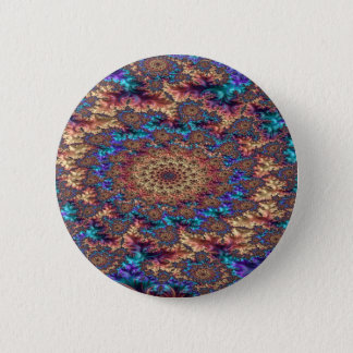 Trancendental Boundary of Sorrow Fractal design 2 Inch Round Button