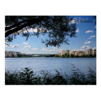 Tranebergsbron, Stockholm, Photo... Postcard