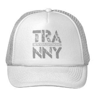 TRANNY Evolution - 11-Speed Car Transmission, Gray Trucker Hat