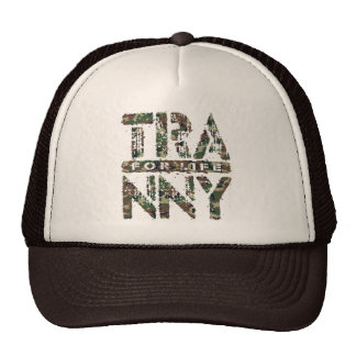 TRANNY For Life - Reliable Car Transmissions, Camo Trucker Hat