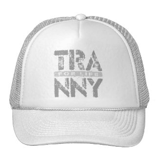 TRANNY For Life - Reliable Car Transmissions, Gray Trucker Hat