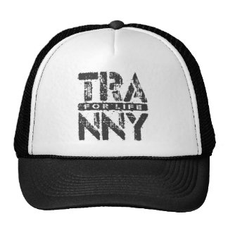 TRANNY For Life - Reliable Car Transmissions, Onyx Trucker Hat