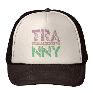 TRANNY Lives Matter - Auto Transmission Care, Plum Trucker Hat