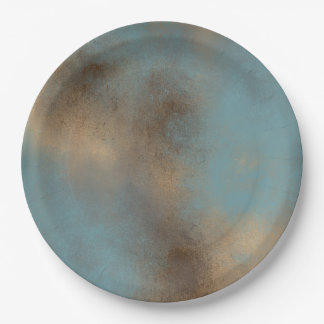 Tranquil and Peaceful Palette | Paper Plate
