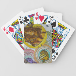 Tranquil Bicycle Playing Cards