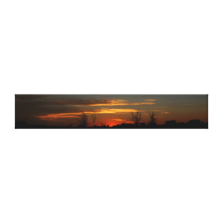Tranquil Evening Stretched Canvas Print